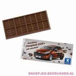 Chocoladereep bedrukken, Chocoladereep met logo, Chocoladereep bedrukt, Chocolade bar bedrukken, Reep chocolade bedrukken, chocola bedrukken
