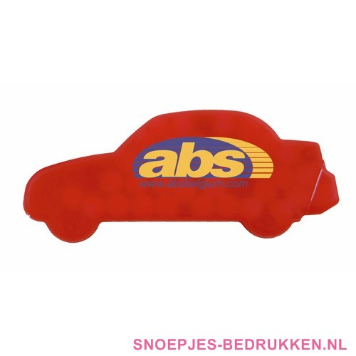 Pepermunt dispenser bedrukken auto, pepermuntdoosjes bedrukken, goedkoop pepermunt bedrukken