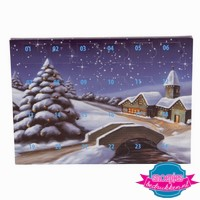 adventskalender A5 bedrukken, adventskalender bedrukt, adventskalender kerst, adventskalender kerstgeschenk, adventskalender met chocolade bedrukken