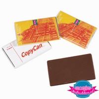 chocolade tablet bedrukken