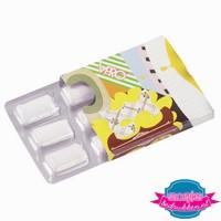 Kauwgom pakje klein, kauwgom bedrukt