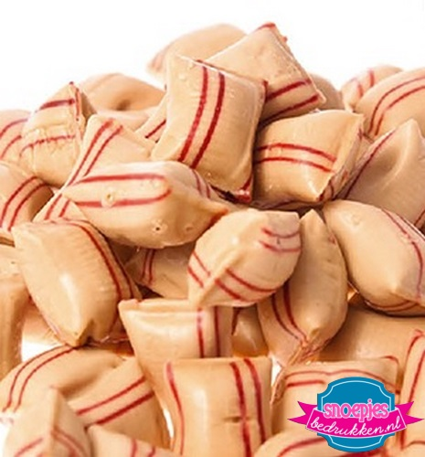 Kaneelkussens snoepgoed snoeppot bedrukt