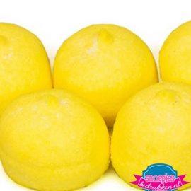 Marsh mellow geel spekjes snoep bedrukken