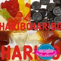 Papieren snoepzakjes Haribo snoep goedkoop bestellen