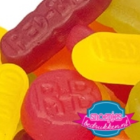 Snoep emmer transparant 670 ml winegums LOGO BEDRUKT